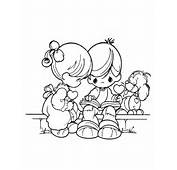 Couples Precious Moments Colouring Pages