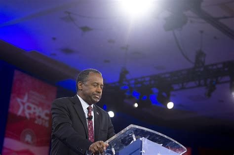 ben carson presidential bid ben carson ends presidential caign kuow news and