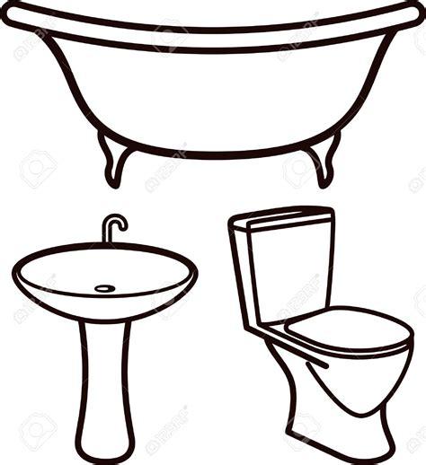 badezimmer clipart bathtub clipart toilet sink pencil and in color bathtub