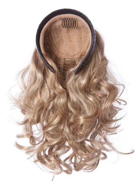 toni brattin 14 curly headband fall headband fall curls by toni brattin wigs com the wig