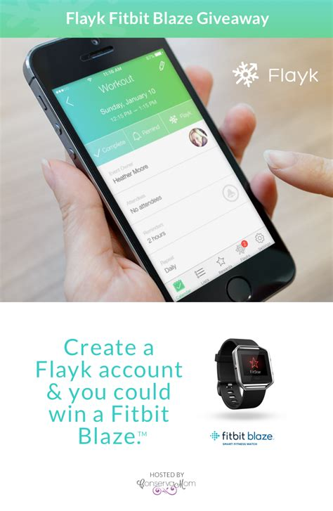 Giveaway App - fitbit blaze giveaway with flayk app ends 3 29 flayk family management