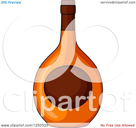 alcohol vector clipart of an alcohol bottle royalty free vector