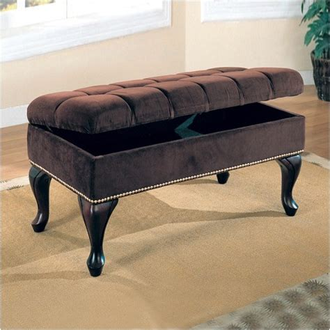 storage bench for bedroom westfall storage bench brown modern accent and storage benches by