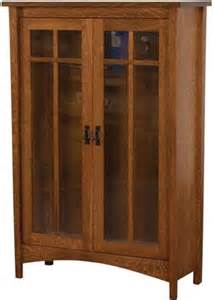 Solid Wood Bookcases With Doors Arts And Crafts Bookcase With Doors Solid Wood Bookcase Customizable Bookcase