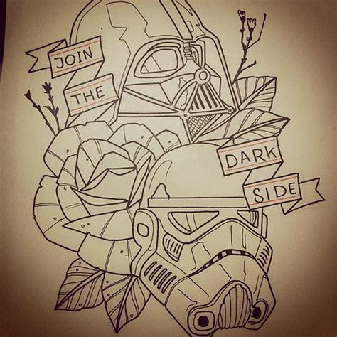 yoda old school tattoo join the dark side we got cookies tattoo starwars dart