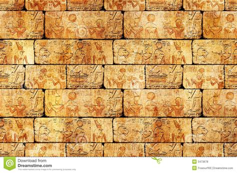 egyptian pattern texture egyptian wall royalty free stock photos image 3473678
