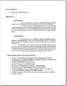 sle resume fresh graduate accounting student resume format for engineering graduates bestsellerbookdb