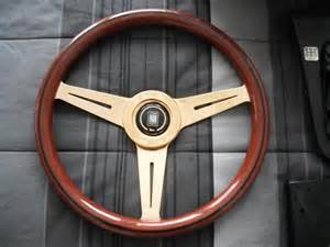 Wood Grain Steering Wheel For Sale Brisbane Fs Ft Nardi Woodgrain Steering Wheel With Gold Spokes