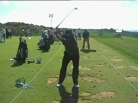 David Frost Golf Swing Views Youtube