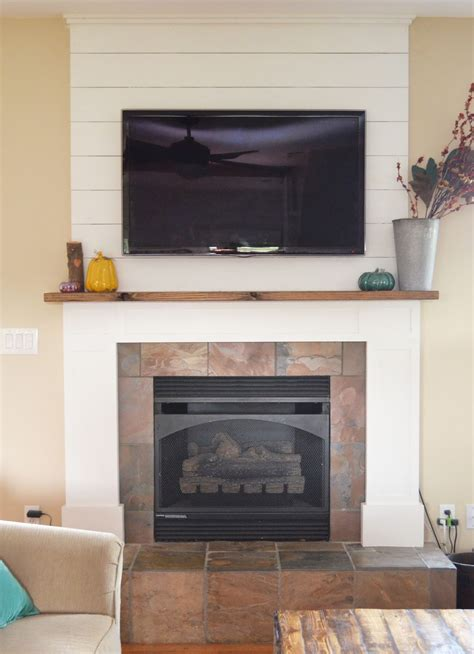 Farmhouse Fireplace by Sew Homegrown