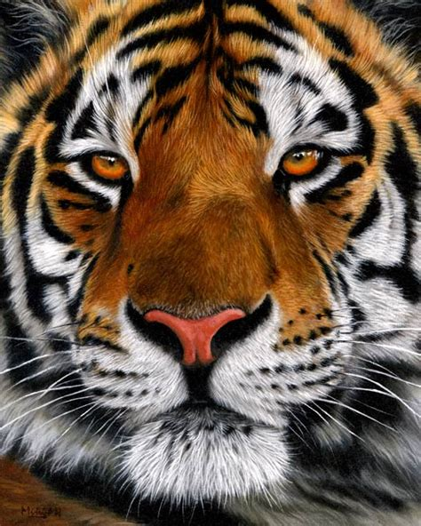 original tiger painting for sale on ebay just 2 days