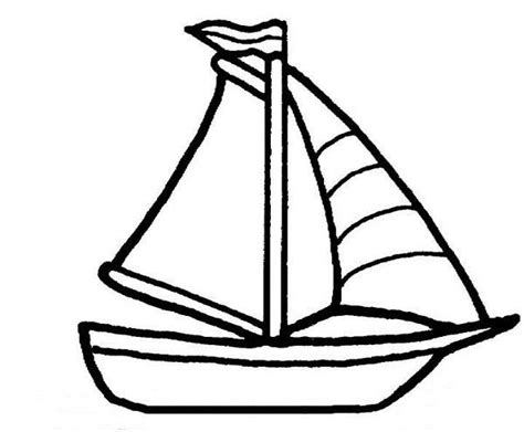 boat outline coloring page boat coloring page www pixshark images galleries