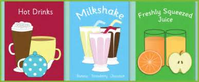 cafe role play posters beverage posters free early