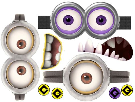 printable minion eyes template finding bonggamom how to make a minion shirt