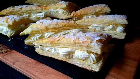 cocinar con hojaldre recetas faciles pasteles de hojaldre con nata recetas de cocina pinterest