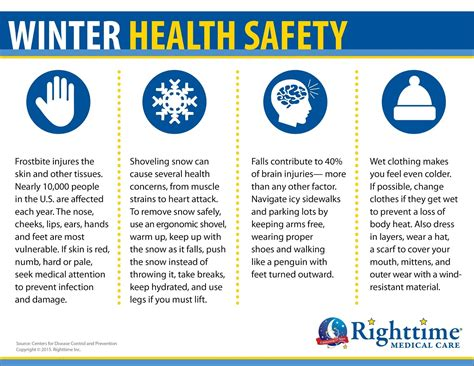 8 Tips For Winter by Er Nurses Care Winter Safety Series Your Health Quot 10