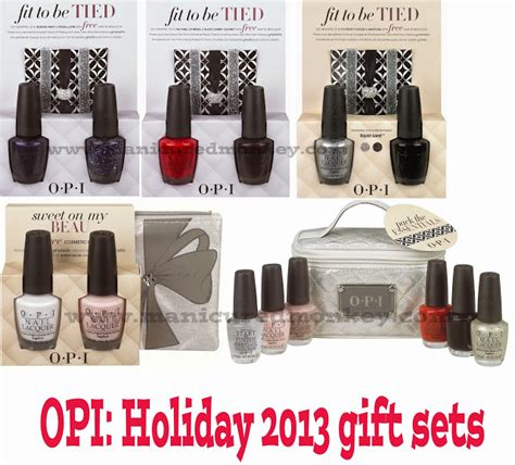 the manicured monkey opi gift sets for 2013