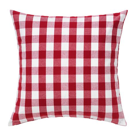ikea red and white bedding ikea smanate cushion cover pillow sham white checkered 20 quot x 20 quot sm 197 nate