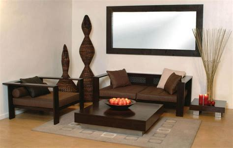 sofas small living rooms minimalist wooden sofa designs for small living rooms