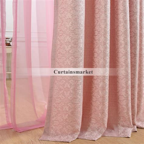 pink curtains for bedroom girls pink bedroom curtains for bedrooms or dining or