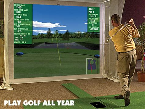 golf swing simulator for home use p3pro swing 28 images p3proswing virtual golf