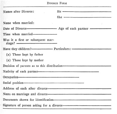 how to write divorce papers files for divorce is denied because he can t