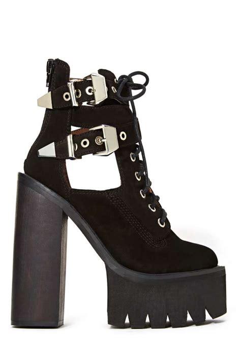 jeffrey cbell abner platform boot black shop