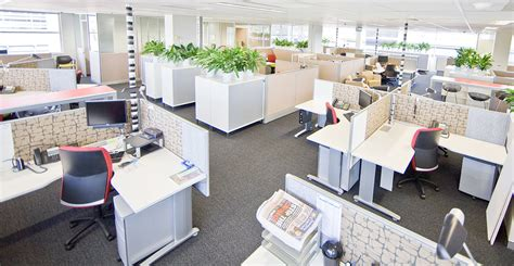Top 4 Office Furniture Trends To Watch For 2016 Open Floor Plan Office Increase Productivity