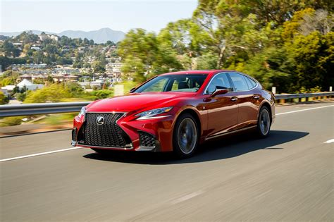 lexus sport 2018 2018 lexus ls 500 f sport adds visual aggression handling