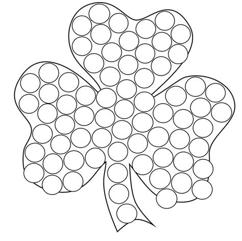 dot marker coloring pages
