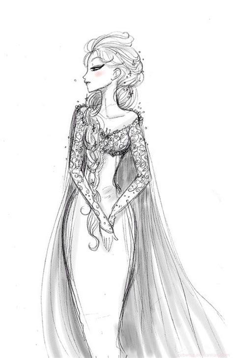 Disney S Frozen Cool Drawings Pinterest Disney Princess Elsa Drawing