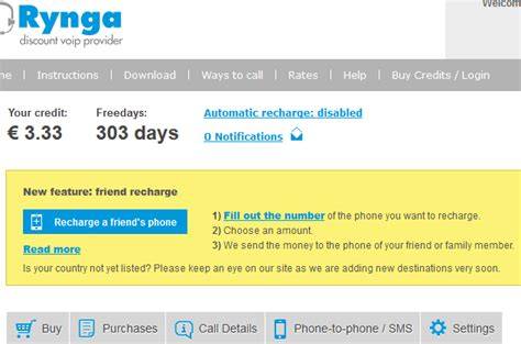 mobile voip discount how to recharge your friends mobile phones from rynga