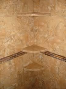 marble shoo shelves in new tile shower new jersey
