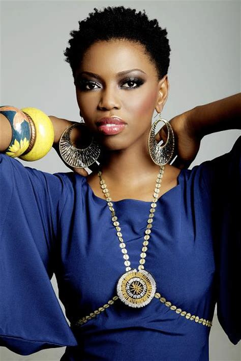 south afirca hair stayle south african singer lira natural hair style icon