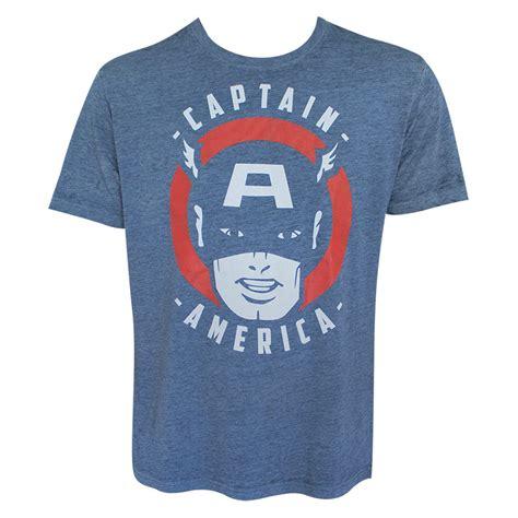 captain america s blue vintage t shirt superheroden