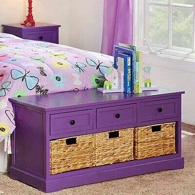 girls storage bench get rid of those minging wicker baskets upcycled