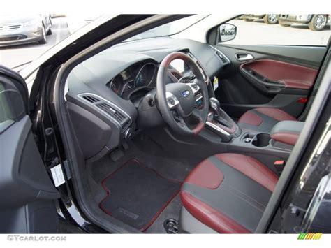 tuscany leather interior 2012 ford focus titanium