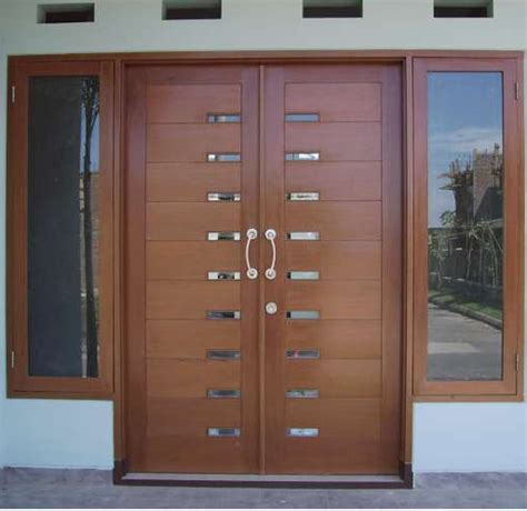 design dapur elegant contoh pintu minimalis elegant rumah