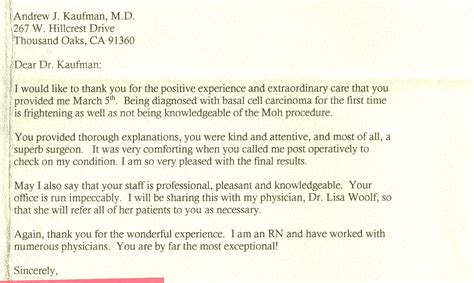 patient referral letter template patient referral thank you letter sles referral thank