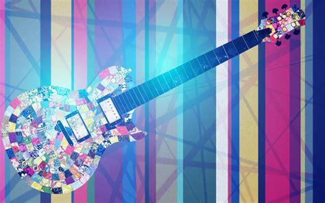 colorful guitar wallpaper guitar nice color hd wallpaper new hd wallpapers