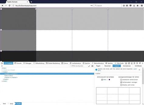 control layout using css full control over grids firefox new layout panel for css