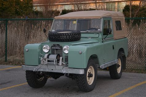 land rover series ii 1960 land rover series 2 88 the merc tin shack restoration