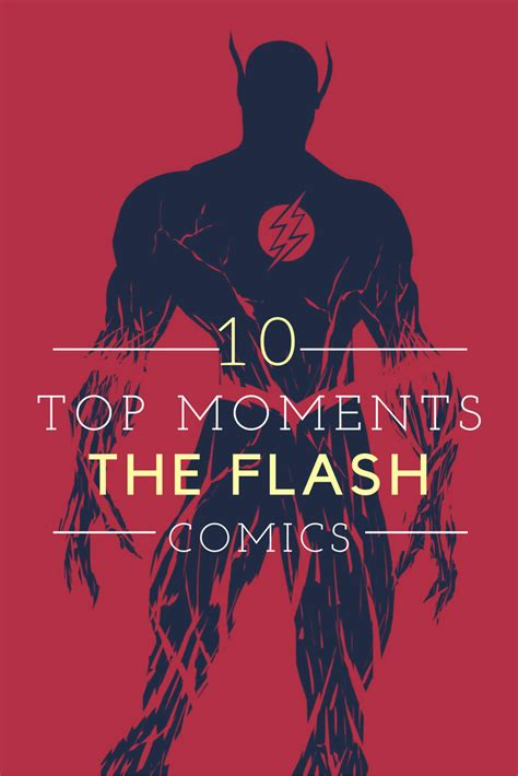 impromptu leading in the moment books top 10 flash moments in comic books mediamedusa