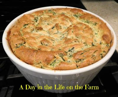 spinach souffle ina garten a day in the life on the farm spinach and cheese souffl 232