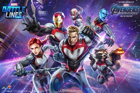 avengers endgame spread marvel games