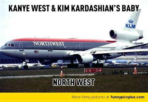 kim and kanye picture quotes meme kanye west and kim kardashian s baby photo funny