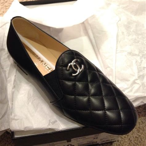 chanel quilted loafers chanel sold chanel quilted mocassins loafers sz6