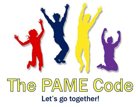welcome the pame code