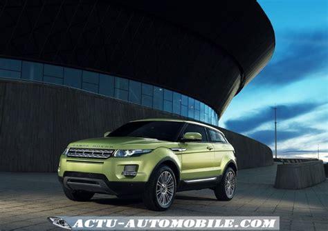 les prix du range rover evoque 233 2011 actu automobile