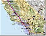 map i 5 california i 5 interstate 5 oregon